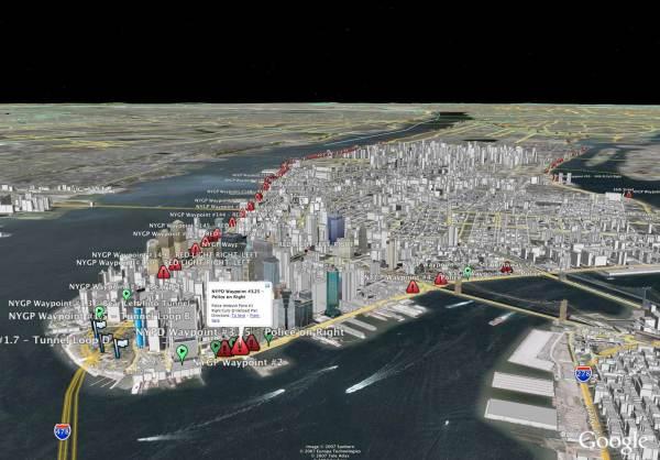 New York Google Earth Maps