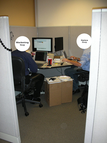 The Winners of the Wired News SaddestCubicle Contest