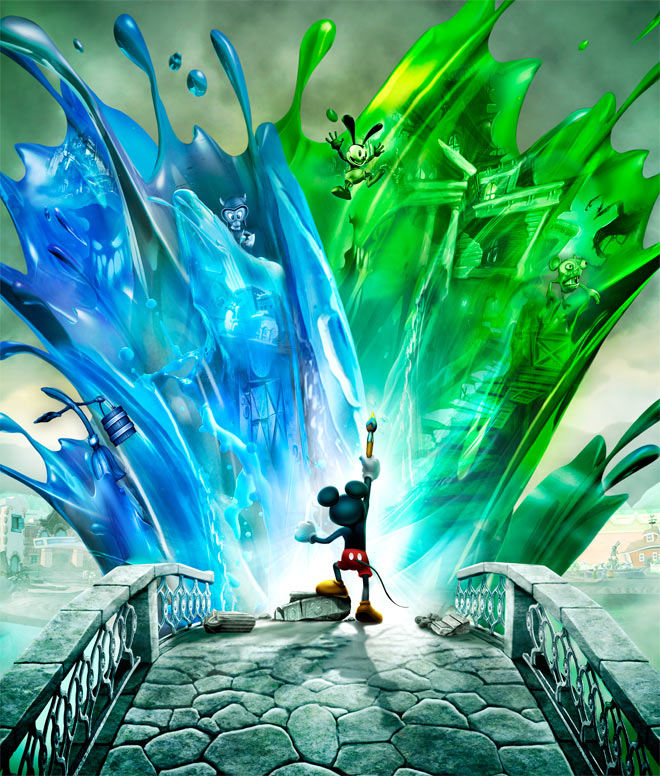Mickey Mouse Walks On The Wild Side In Epic Mickey Wired