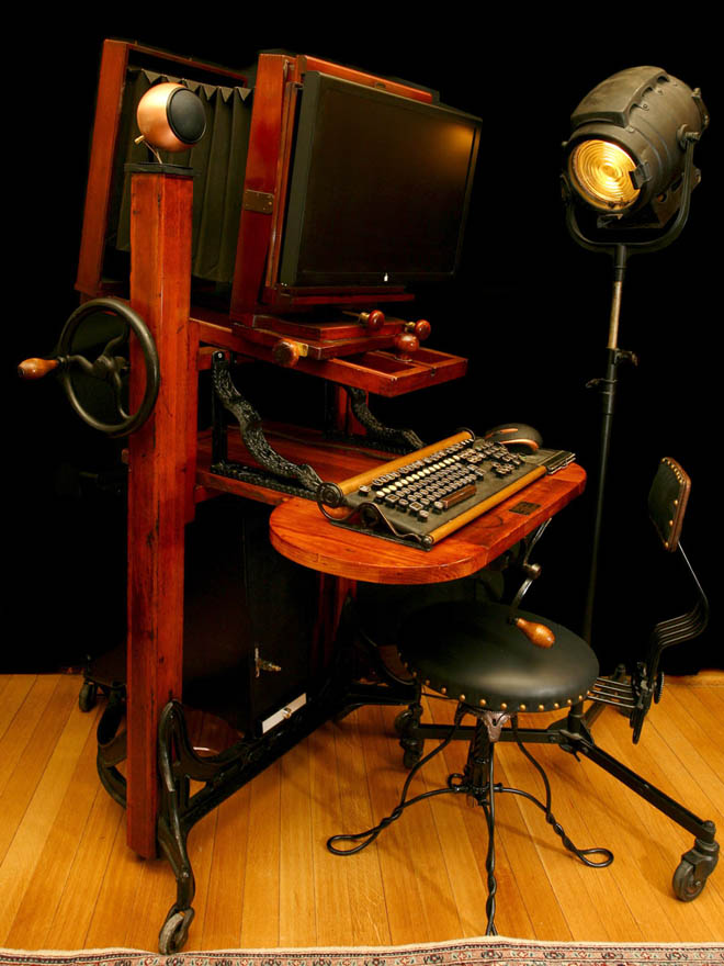 Gallery Steampunk Workstation Is a Victorian Crapper for