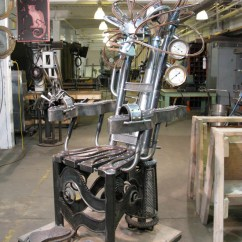 Mannequin Chair Stand Accent Chairs Home Goods Steampunk Contraptions Take Over Tattoo Studio | Wired