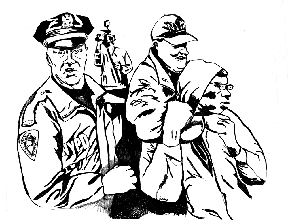 Police Brutality Coloring Book Begs Question, 'What Color