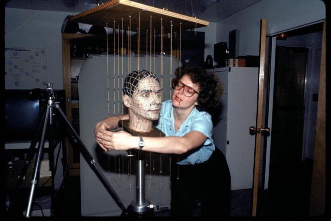 Meet Kraftwerks Original 3D Animator Rebecca Allen  WIRED