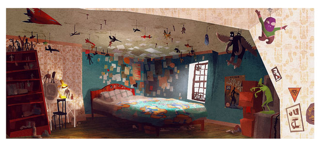 Visualize This The Concept Art Behind ParaNormans 3D