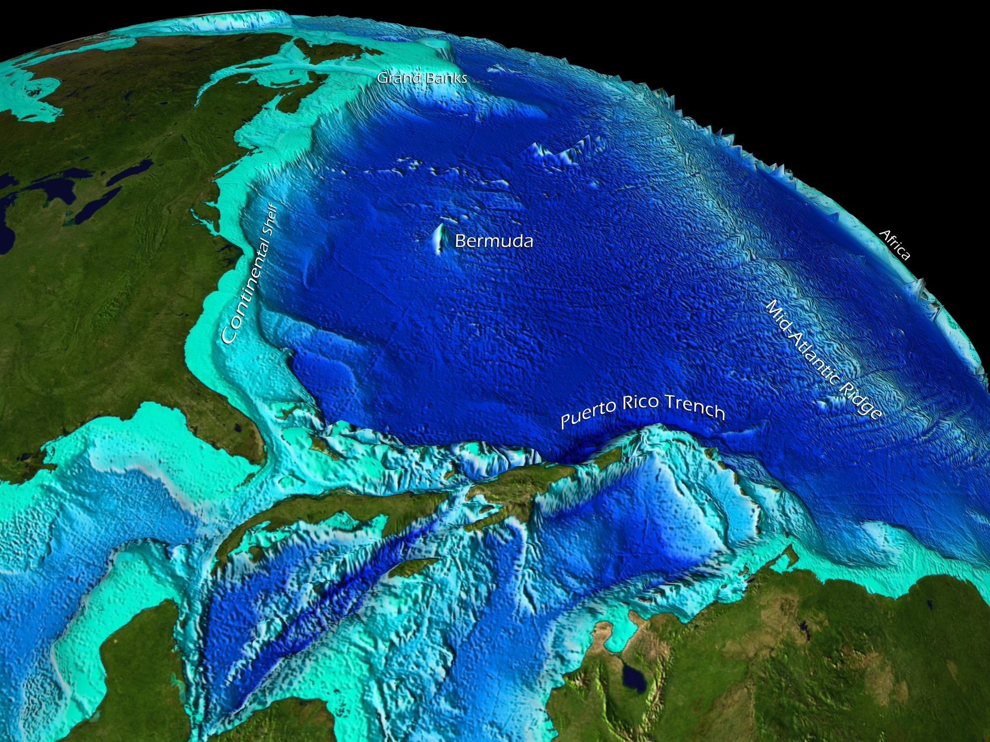 Seafloor Sunday 80 Satellite Mapping Of The Seafloor