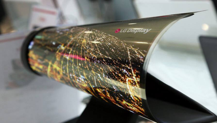 OLED LG Rollable