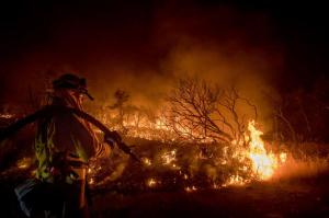 California wildfires: Hundreds evacuated as flames spread