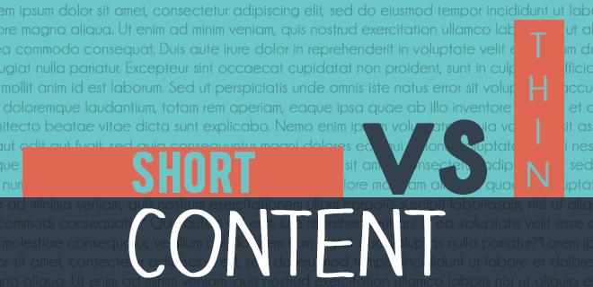 ShortVsThinContent