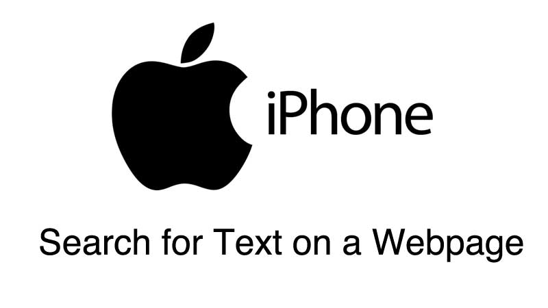 How To Search For Text On A Webpage on iPhone (CTRL+F