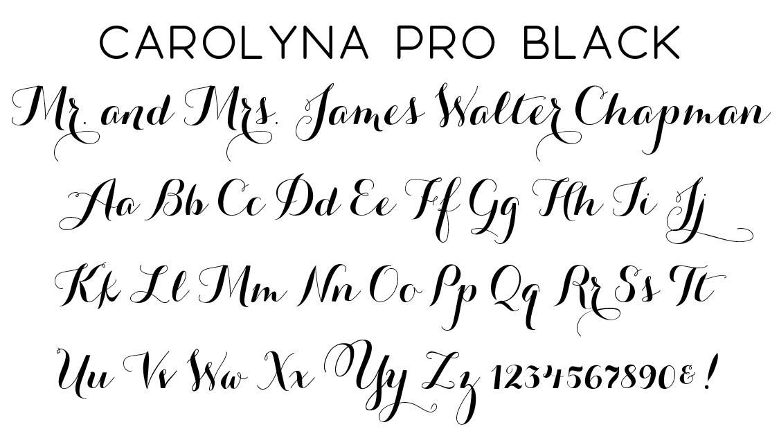 Script Fonts  Wiregrass Weddings