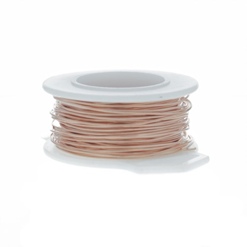 small resolution of 28 gauge round copper craft wire 120 ft