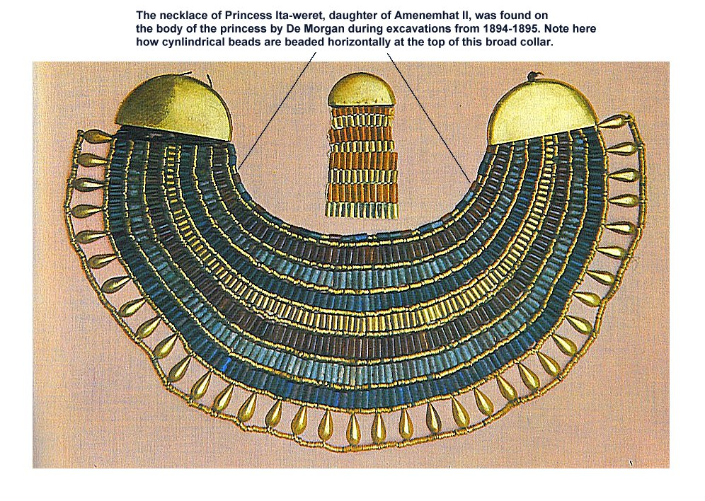 Egyptian Collar Necklace Pattern