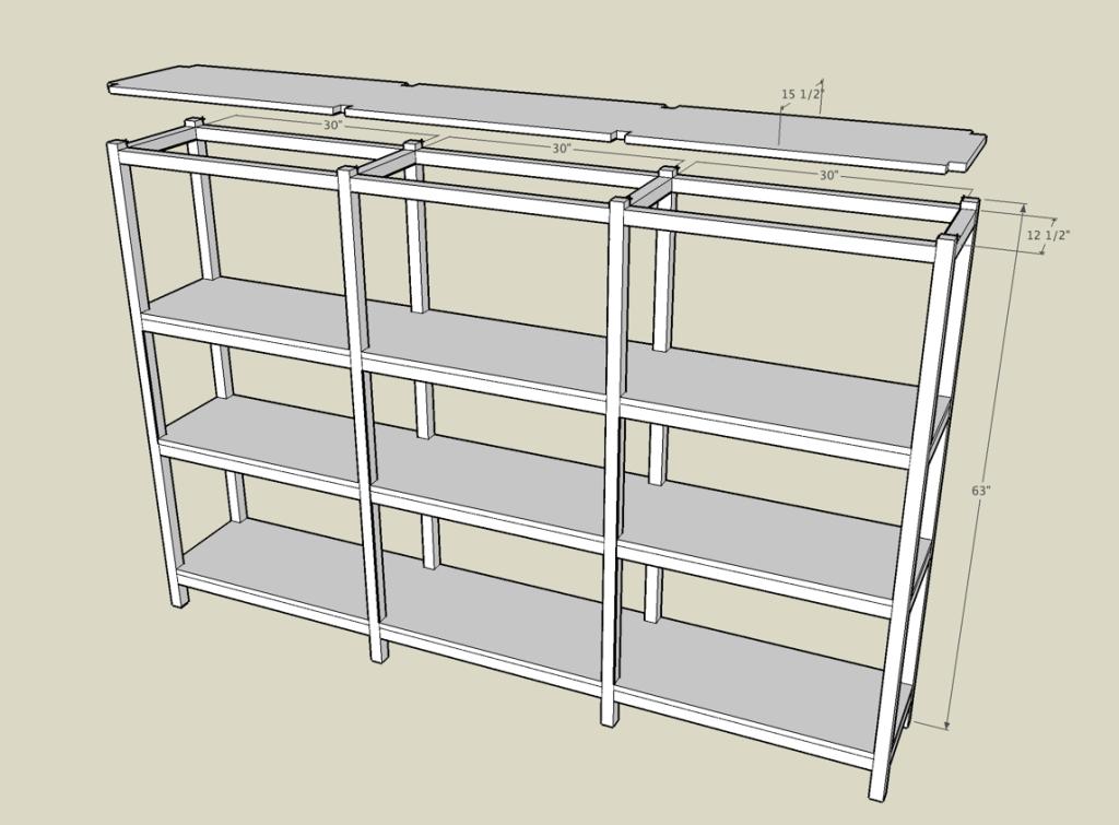 Basement Shelves