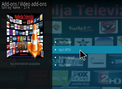 How To Install No1 IPTV Kodi Addon Step 17