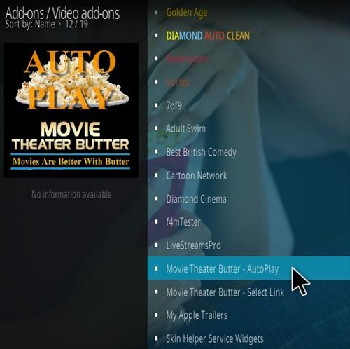 How To Install Movie Theater Butter Kodi Addon 339 Step 18