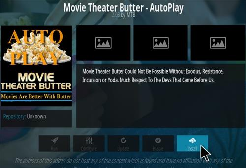 How To Install Movie Theater Butter Kodi Addon 339 Step 19