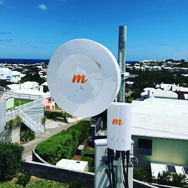 More sites are going up all the time.  #catchthebluewave #Bermuda #Broadband #WISP @mimosanetworks