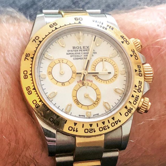 #Rolex #Daytona. It was two hours to the weekend.