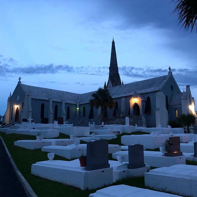 Blue hour at St Paul's church.