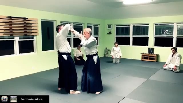 Repost from @bermuda.aikikai using @RepostRegramApp - The Basics. Fundamentals. We often try to progress to the fancy stuff, but the basics are the foundation of everything we build on. Here John and Chris show timing, space and movement. #aikido #basics #training #aikido_techiniques #martialArts  #moriheiueshiba #osensei #bermudaaikikai #aikikaiaikido  #sunset #bermuda #usaf