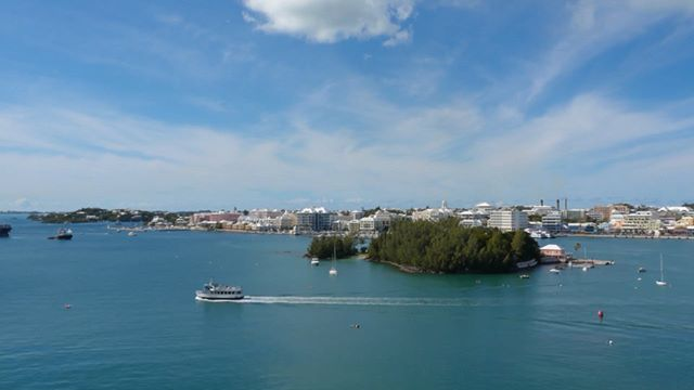 A time-lapse of the new Oleander vessel, purpose built for Bermuda arriving on her maiden voyage yesterday.