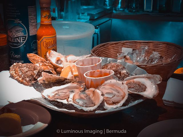 I have to say one of my favorite things about traveling is trying different oysters with @bermuda.bride and of course we have to have champagne to go with them. Pure luxury to be sure. What is your favorite go to food when you travel?