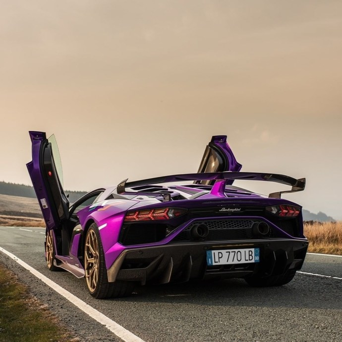 Saturday drive. Step out in full purple! Repost from @lamborghini What makes our Super Sports Cars absolute icons? The fact that, no matter the context, they are always the protagonists. This is Aventador SVJ, captured by @lamborghini_maddog for @lamborghinimanchester.