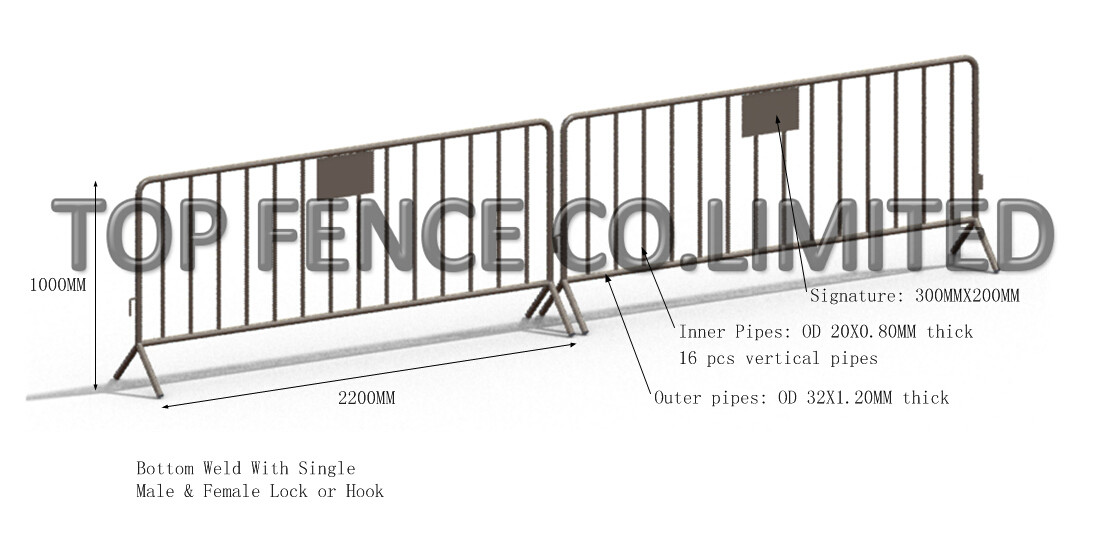 3D wire mesh fence panels