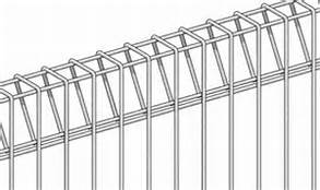hot dipped galvanized BRC welded mesh panel fencing, roll