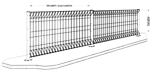 BRC Fencing China Manufacturer Supply To Malaysia, Hot