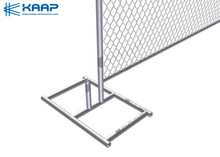 Commercial Chain Link Fence , Chain Wire Mesh Flat Surface