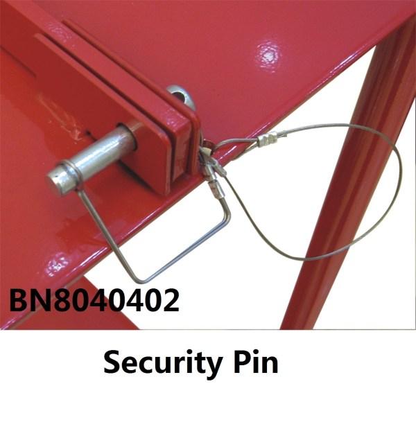 Lockable 6 In 1 Mobile Gas Cylinder Transport Rack