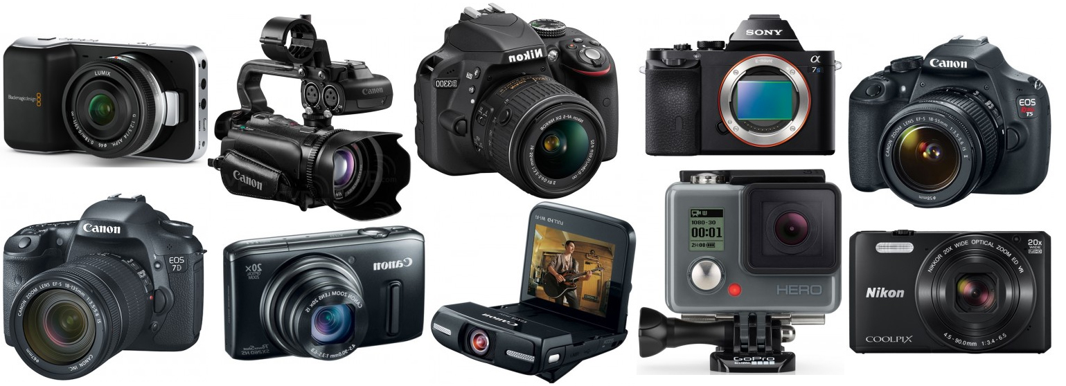 Top 10 Best Video Cameras for Filming YouTube Videos