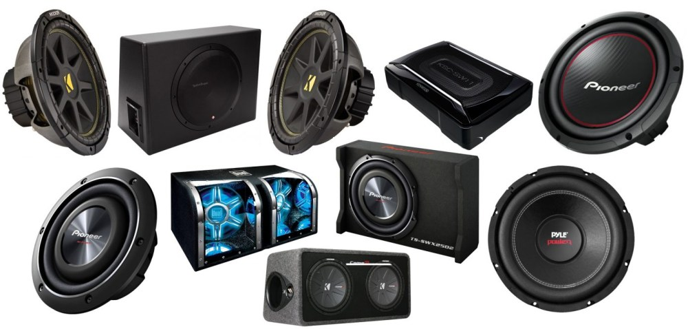 medium resolution of the top 10 best car subwoofers on the planet
