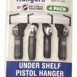Handgun Hangers Under Shelf Package