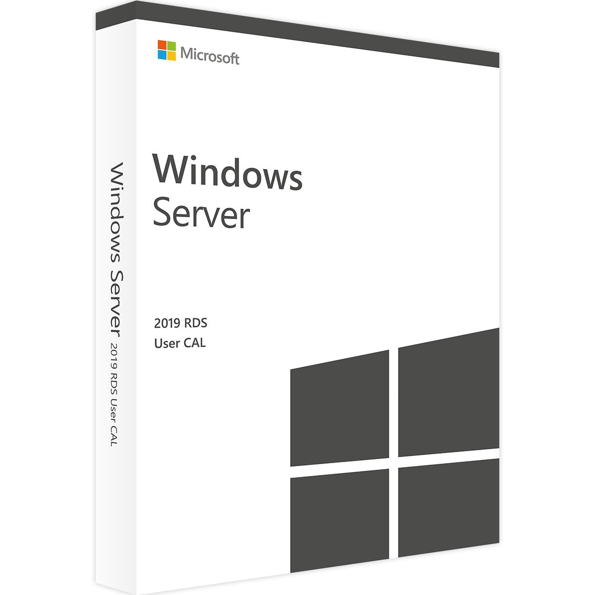 Remote Desktop CAL 2019 Remote Desktop Services CAL