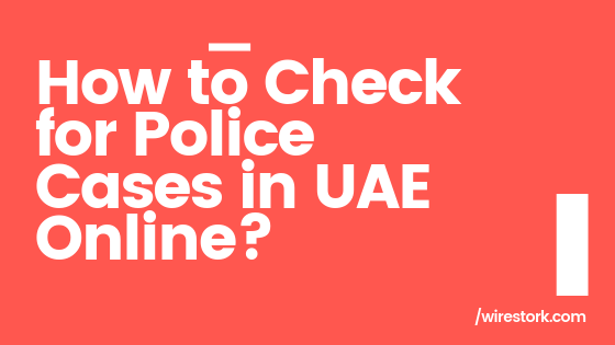 how to check police case in uae online