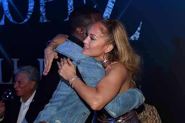 Las Vegas Nv September 30 Sean Diddy Combs L And Jennifer Lopez Attend The After Party For The Finale Of The Jennifer Lopez All I Have Residency