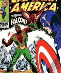 Halcón, el segundo superhéroe negro (1969).
