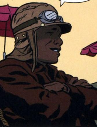 """Washington """"Wash"""" Jones lucharía contras las amenzas a EEUU durante la Segunda Guerra Mundial ."""