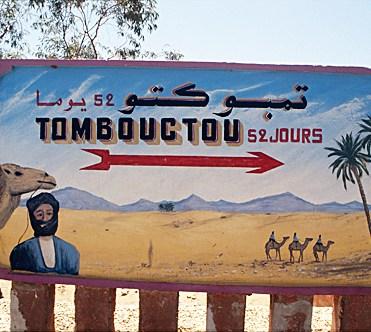 Tombouctou: 52 días en camello