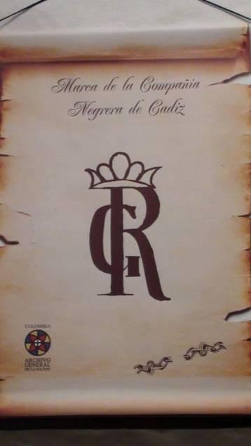 Logotipo de la Compañía Negrera. Foto: Jorge Porras.