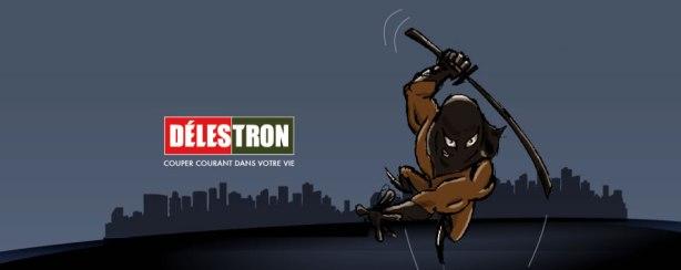 Una imagen de Délestron. Fuente: Página Fabook del personaje