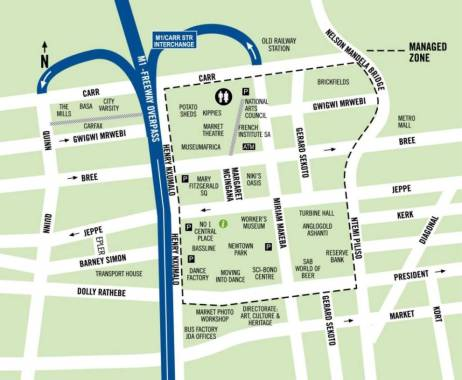 Newtown Map
