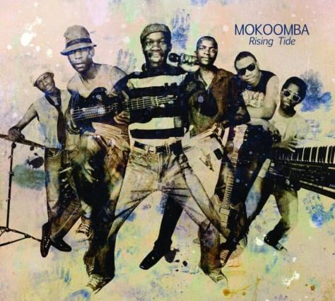 Portada del disco 'Rising Tide' de la banda Mokoomba.