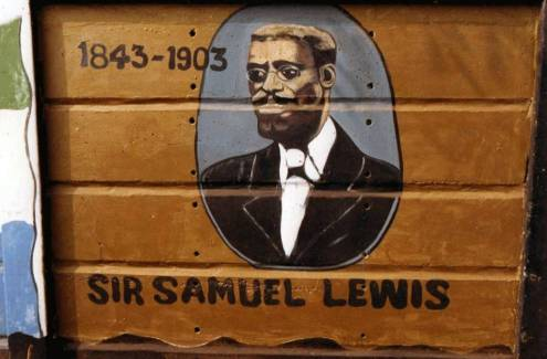 Samuel Lewis, Legal Luminary and Mayor of Freetown. Fuente: Brand Sierra Leone