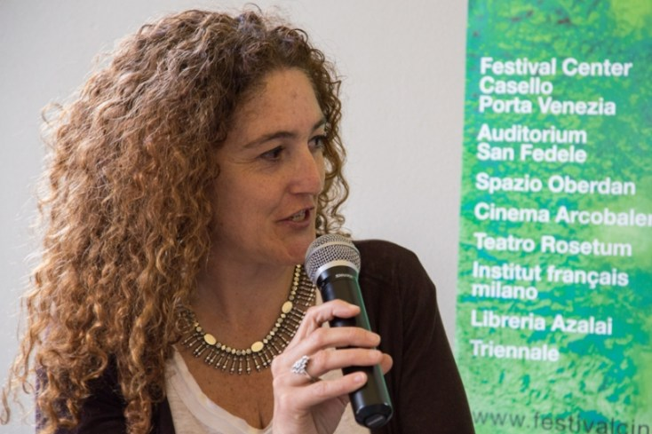"Daniela Ricci, especialista en cinematografías africanas y directora del documental ""Creation in Exile. Five Filmmakers in Conversation"" (2013)."