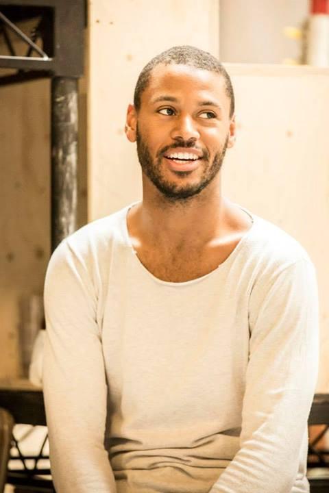 Ira Mandela Siobhan en un ensayo. Foto: Johan Persson/Young Vic Theatre.