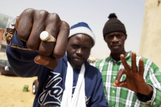Morgun, antiguo miembro del grupo de rap Keur Gui, fundadores del movimiento Y'en A Marre. Foto: Nomadicwax.