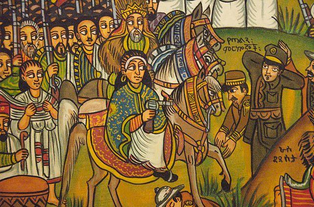 El 1 de marzo de 1896, las fuerzas etíopes comandadas por el emperador Menelik II derrotaron al ejército italiano en la batalla de Adwa. Era la primera vez que un país africano vencía a una potencia europea.